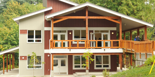 Mackenzie Hall at YMCA Camp Elphinstone
